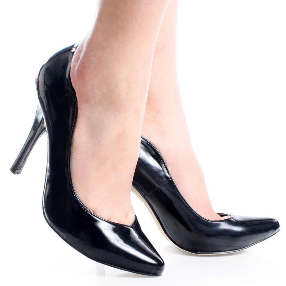 Black Business Heels